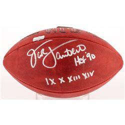 "Jack Lambert Signed Official NFL Game Ball Inscribed ""HOF '90""  ""IX X XIII XIV"" (Radtke COA)"