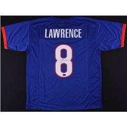 Demarcus Lawrence Signed Boise State Broncos Jersey (Radtke COA)