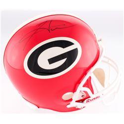 Hines Ward Signed Georgia Bulldogs Full-Size Helmet (JSA COA)