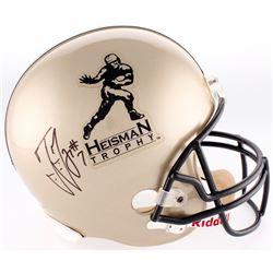 Ted Ginn Jr. Signed Heisman Trophy Full-Size Helmet (JSA COA)