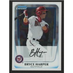 2011 Bowman Chrome Prospects #BCP1 Bryce Harper