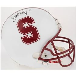 John Elway Signed Stanford Cardinal Full-Size Helmet (Elway Hologram)