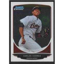 2013 Bowman Chrome Prospects #BCP100 Carlos Correa