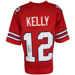 Jim Kelly Signed Bills Jersey (JSA COA)