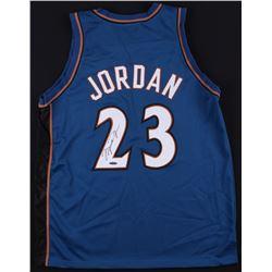 Michael Jordan Signed Wizards Jersey (UDA COA)