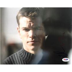 "Matt Damon Signed ""The Bourne Identity"" 8x10 Photo (PSA COA)"