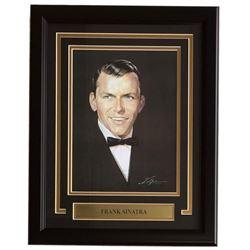 Frank Sinatra 16x20 Custom Framed Print Display