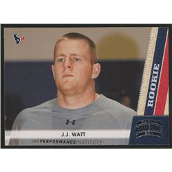 2011 Panini Threads #190 J.J. Watt RC