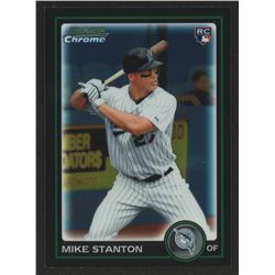 2010 Bowman Chrome Draft #BDP30 Mike Stanton RC