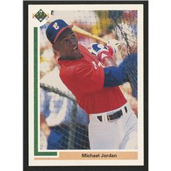 1991 Upper Deck #SP1 Michael Jordan SP / Shown batting in / White Sox uniform