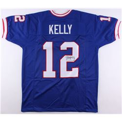 Jim Kelly Signed Bills Jersey (JSA COA)