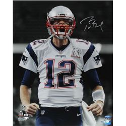 Tom Brady Signed Patriots Super Bowl LI 16x20 Limited Edition Photo (Steiner COA)