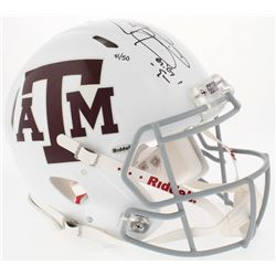Johnny Manziel Signed Texas AM LE Full-Size Authentic Speed Helmet (Panini COA)