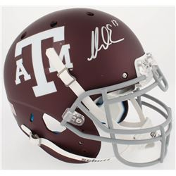 Mike Evans Signed Texas AM Aggies Full-Size Authentic On-Field Helmet (JSA COA)