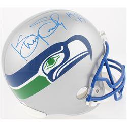 "Kenny Easley Signed Seahawks Full-Size Throwback Helmet Inscribed ""HOF '17"" (Radtke COA)"