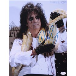 Alice Cooper Signed 11x14 Photo (JSA COA)
