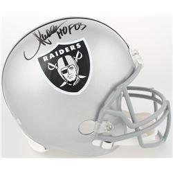 "Marcus Allen Signed Raiders Full-Size Helmet Inscribed ""HOF 03"" (Allen Hologram  Radtke Hologram)"