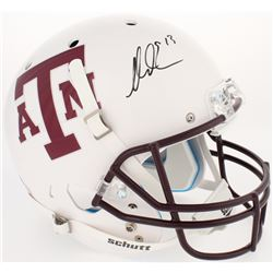 Mike Evans Signed Texas AM Aggies Full-Size Helmet (JSA COA)