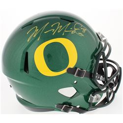Marcus Mariota Signed Oregon Ducks Full-Size Speed Helmet (Mariota Hologram  Radtke COA)
