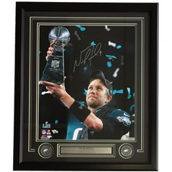 Nick Foles Signed Eagles 22x27 Custom Framed Photo Display (Fanatics)