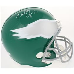 Randall Cunningham Signed Eagles Throwback Full-Size Helmet (Radtke COA)