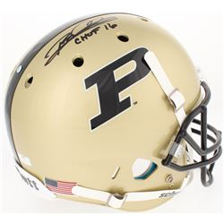 "Rod Woodson Signed Purdue Boilmakers Full-Size Helmet Inscribed ""CHOF 2016"" (Radtke COA)"