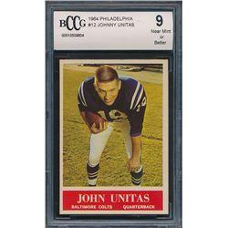 1964 Philadelphia #12 Johnny Unitas (BCCG 9)