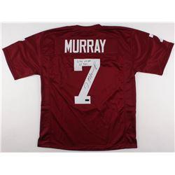 "DeMarco Murray Signed Oklahoma Sooners Jersey Inscribed ""6,718 AP""  ""65 TD's"" (Radtke COA)"