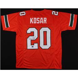 Bernie Kosar Signed Miami Hurricanes Jersey (Radtke COA)