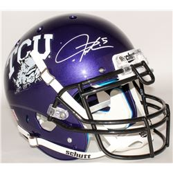 LaDainian Tomlinson Signed TCU Horned Frogs Full-Size Authentic On-Field Helmet (Tomlinson Hologram)