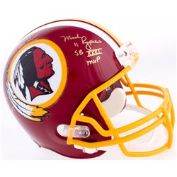Joe Theismann, Mark Rypien  Doug Williams Signed Redskins Full-Size Helmet with (3) Super Bowl Inscr