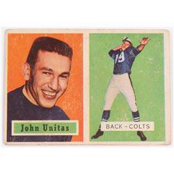 1957 Topps #138 Johnny Unitas RC