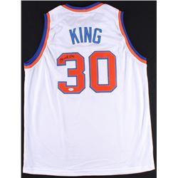Bernard King Signed Knicks Jersey (JSA COA)