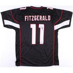 Larry Fitzgerald Signed Cardinals Jersey (PSA COA)