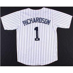"Bobby Richardson Signed Yankees Jersey Inscribed ""60 WS MVP"" (JSA COA)"