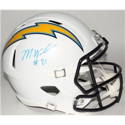 Mike Williams  Signed Chargers Full-Size Speed Helmet (Fanatics Hologram)