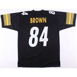 Antonio Brown Signed Steelers Jersey (JSA COA)