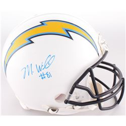 Mike Williams Signed Chargers Full-Size Authentic On-Field Helmet (Fanatics Hologram)