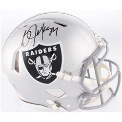 Bo Jackson Signed Raiders Full-Size Authentic On-Field Speed Helmet (Jackson Hologram)