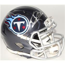Derrick Henry Signed Titans Mini Speed Helmet (Henry Hologram)