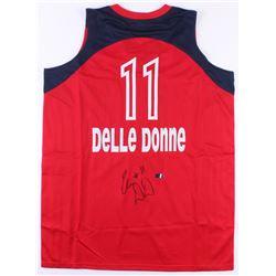 Elena Delle Donne Signed Mystics Jersey (Radtke COA)
