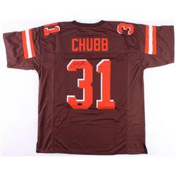 Nick Chubb Signed Browns Jersey (Radtke COA)