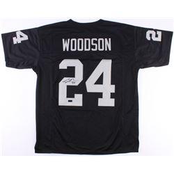 Charles Woodson Signed Raiders Jersey (Radtke COA)