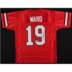 Hines Ward Signed Georgia Jersey (Radtke COA)
