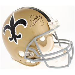 Archie Manning Signed Saints Throwback Full-Size Authentic On-Field Helmet (Steiner COA)