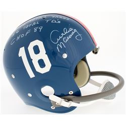 Archie Manning Signed LE Ole Miss Rebels Throwback Full-Size Suspension Helmet with (3) Inscriptions