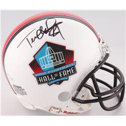Terrell Owens Signed NFL Hall of Fame Mini Helmet (JSA COA)