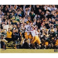 "Matt Leinart  Reggie Bush Singed USC Trojans 20x24 Photo Inscribed ""Heisman 04""  ""Heisman ""05"" (Lein"