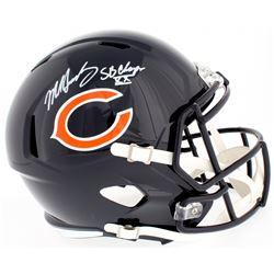 "Mike Singletary Signed Bears Full-Size Speed Helmet Inscribed ""SB XX Champs"" (Beckett COA)"