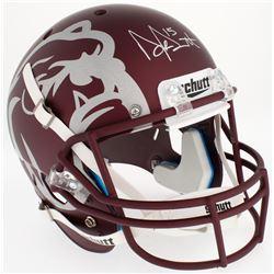 Dak Prescott Signed Mississippi State Bulldogs Custom Matte Maroon Full-Size Helmet (Radtke COA  Pre